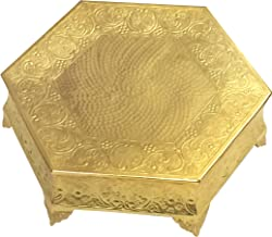 GiftBay Creations CSG74518HEX GiftBay Wedding Cake Stand Hexagonal Shape 18