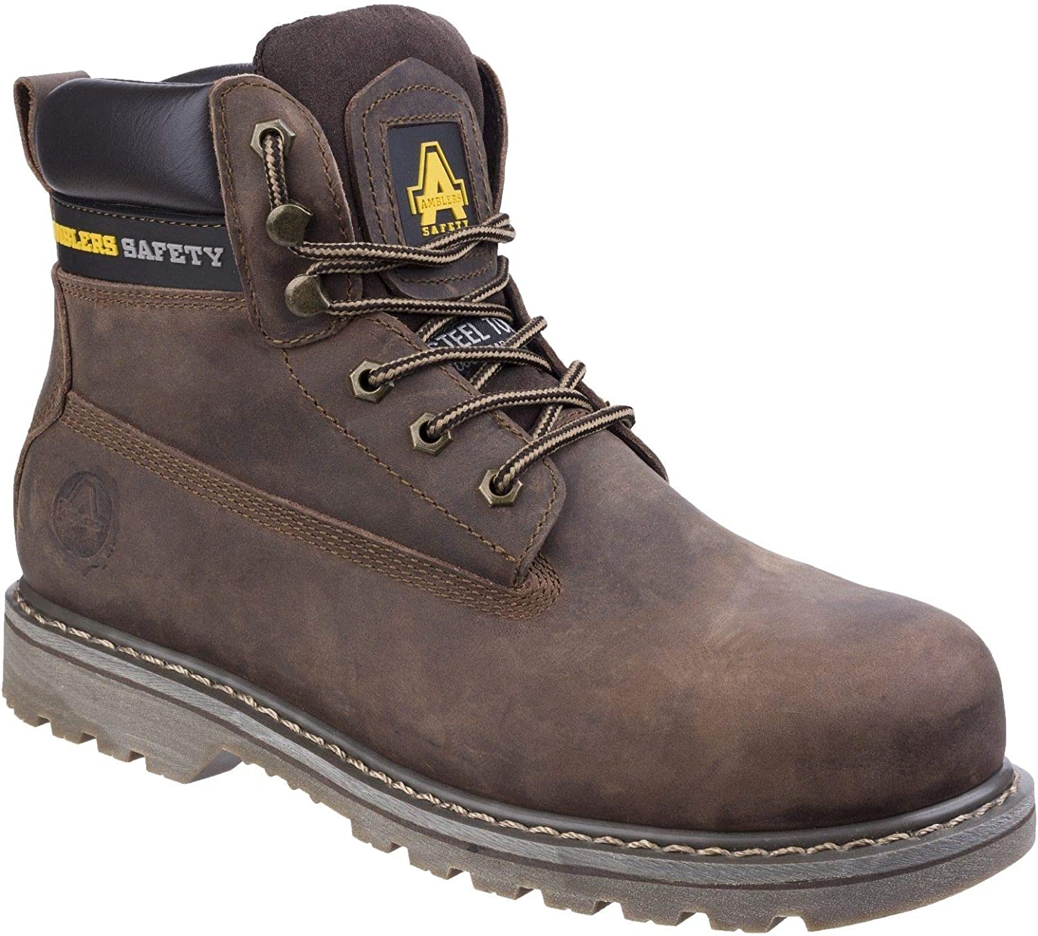 Amblers Safety Unisex FS164 Goodyear Welted Lace up Industrial Safety Boot