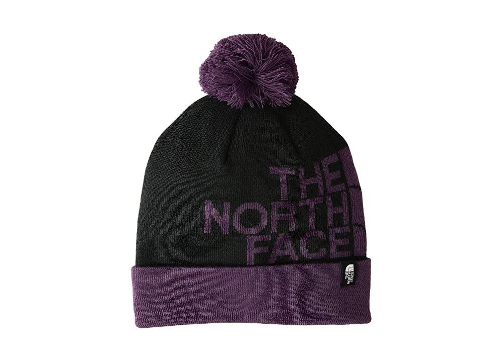 The North Face Ski Tuke V (TNF Black/Black Currant Purple) Beanies