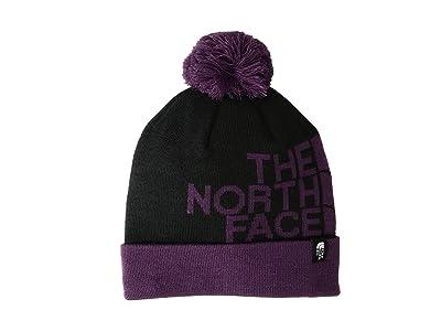 The North Face Ski Tuke V (TNF Black/Black Currant Purple) Beanies