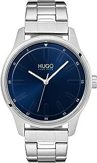 Hugo Boss Men'S Blue Dial Stainless Steel Watch - 1530020