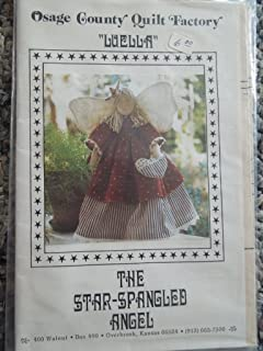 Osage County Quilt Factory Luella the Star Spangled Angel Pattern