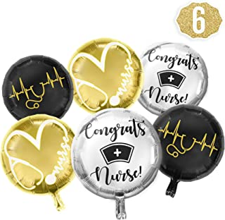 Bax Party Supply Nursing Graduation Pinning Class Celebration Balloon Decorations Supplies Bouquet kit