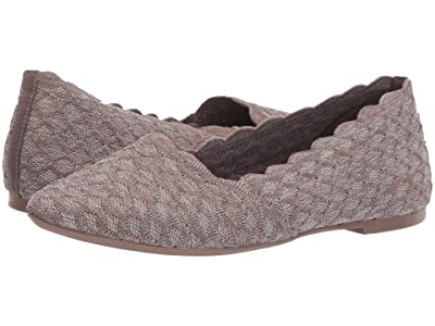 SKECHERS Cleo Honeycomb (Dark Taupe) Women