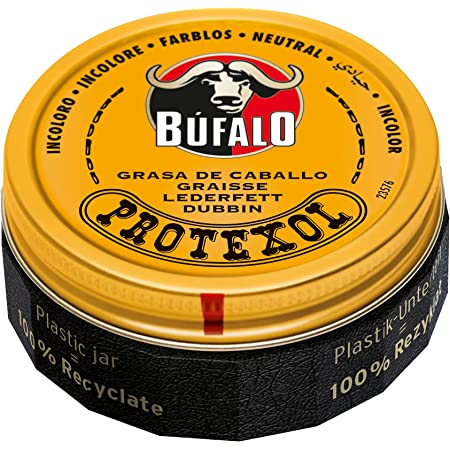 Búfalo - Protexol Grasa de Caballo Lata Nº 3 Incoloro, 75 Ml