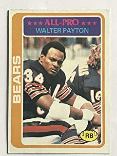 1978 Topps #200 Walter Payton EX (Excellent)