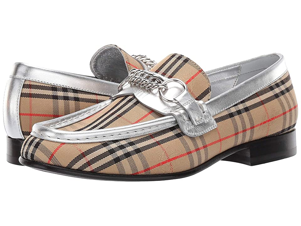 Burberry Moorley Chain (Silver/Grey) Women's Shoes