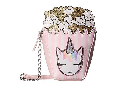 OMG! Accessories Popcorn Crossbody (Pink) Cross Body Handbags