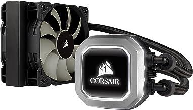 Corsair Hydro Series H75 (2018) - Sistema de Refrigeración líquida para CPU de Rendimiento (Radiador de 120 mm, LeD Blanco), Negro