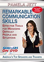 Remarkable Communication Skills: Effective Tools for Managing Difficult People and Situations - Seminars On Demand Personal and Professional Development Training Video - Speaker Pamela Jett - Includes Streaming Video Streaming Audio + MP3 Audio