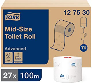 Papier toaletowy - TORK ADV TOILET PAPER COMP ROLL (27ROL) #