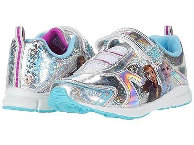 Josmo Kids Frozen 2 Sneaker (Toddler/Little Kid) (Silver/Blue) Girl
