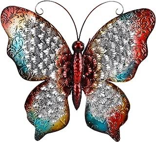 Best butterfly wall hangings metal Reviews