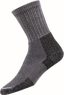 Calcetines de senderismo para hombre, Hombre, Calcetines de senderismo para hombre, peltre, tamaño mediano, KX11876, plateado, medium