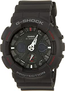Casio G-Shock Watch For Men Ana-Digi Dial Resin Band - GA-120-1AHDR