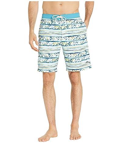Tommy Bahama Baja Cecina Stripe Swim Trunk (Galaxy Blue) Men