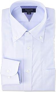 [タカキュー] ワイシャツ 形態安定 抗菌防臭 スリムフィット 長袖 ビジネスシャツ メンズ