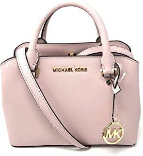 Michael Kors Small Saffiano Leather Satchel - Blossom