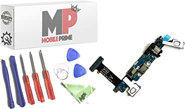 MOBILEPRIME Charging Port Replacement Kit Compatible for Samsung Galaxy S6 (G920V) Including Repair Tools