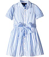 Striped Cotton Shirtdress (Toddler)