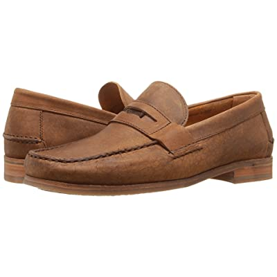 30357a8b9e671 Sebago Conrad Penny (Tan Crackled Leather) Men's Shoes