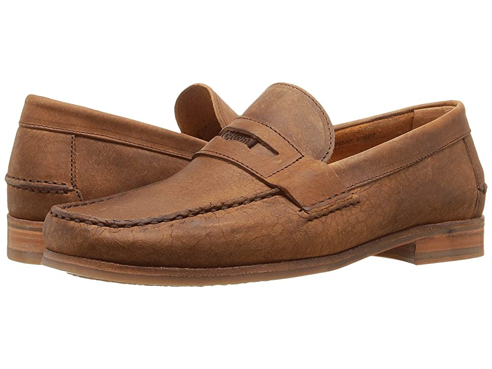 Sebago Conrad Penny (Tan Crackled Leather) Men