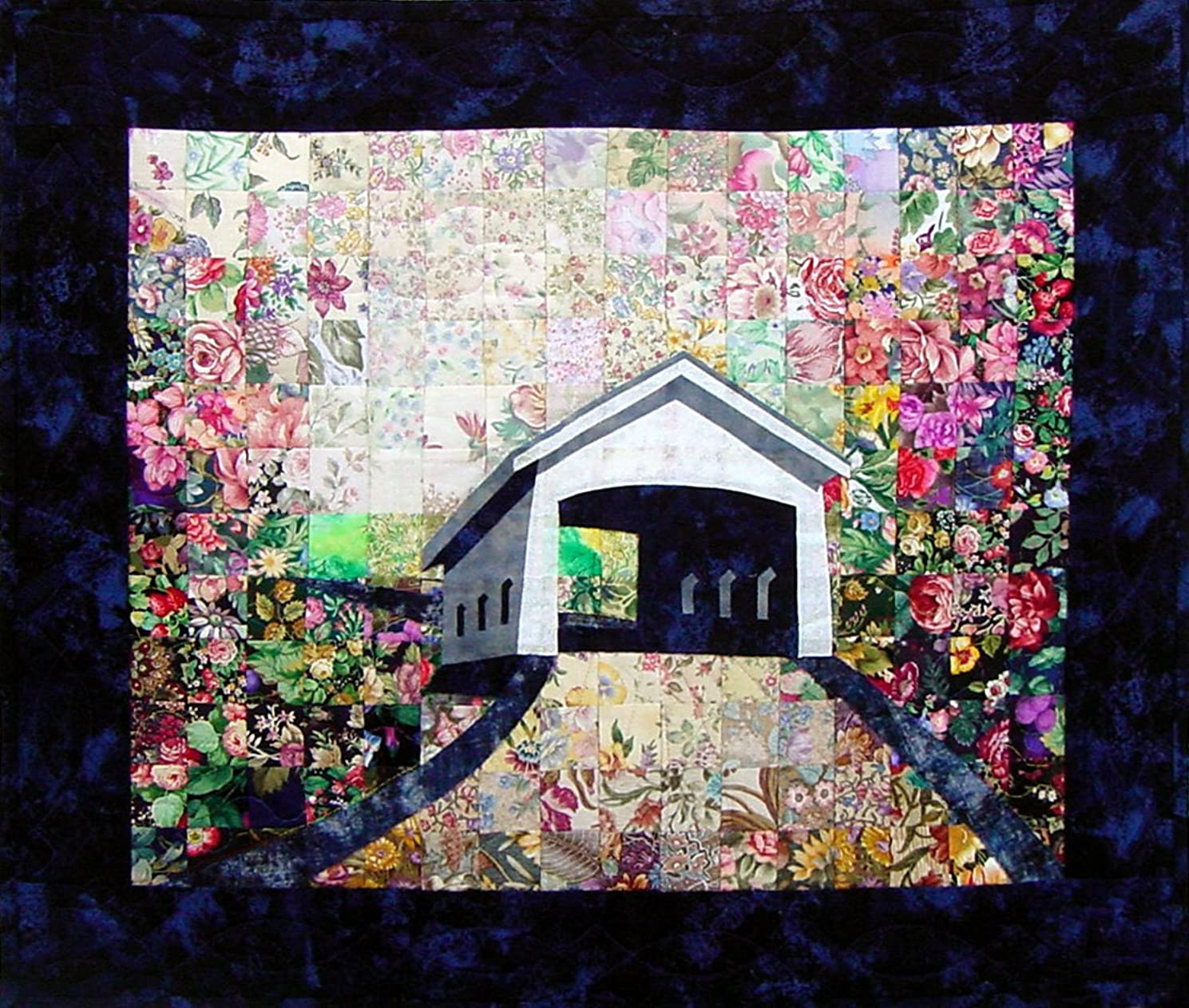 Whims Watercolor Quilt Kits Covered Bridge Quilting Supplies