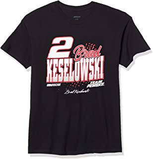NASCAR Branded Merchandise Core Script Fan Favorite White Shirt