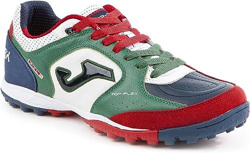 Joma tOPW _ 726_ TF Chaussures Futsal Top Flex 726Turf vert-bianco Chaussure