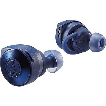 audio-technica 完全ワイヤレスイヤホン ATH-CKS5TW BL/Bluetooth マイク付き ブルー