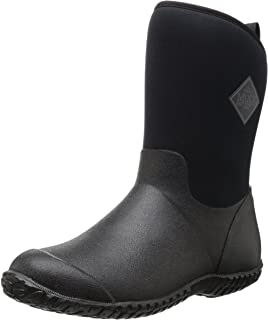 Muck Boot Muckster ll Mid-Height Women's Rubber Garden Boots, Black, 8 B US