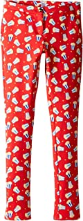 [マークジェイコブス] Little Marc Jacobs レディース All Over Printed Pop Corn Trousers (Big Kids) ボトムス Pop Red 12 L Big Kids [並行輸入品]