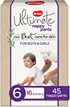 Huggies Ultimate Nappy Pants, Unisex, Size 6 (16+kg), 45 Count