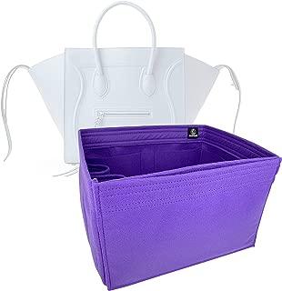 Zoomoni Celine Phantom Luggage Medium Bag Insert Organizer - Premium Felt (Handmade/20 Colors)