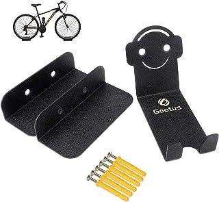 featured product Bike Rack Hanger Wall Mount - Heavy Duty Bicycle Racks for Garage Horizontal Bike Hook Storage Indoor 3 in 1