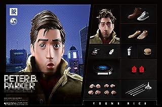 YOUNG RICHToys 1/6 フィギュア 中年パーカー 素体 ヘッド、服セット コスプレ アクションフィギュア YR005 素衣版