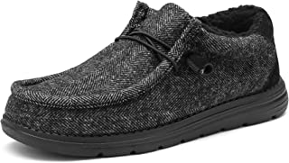 Sponsored Ad - Bruno Marc Men's Slip-on Faux Fur Lined Loafers Casual Shoes