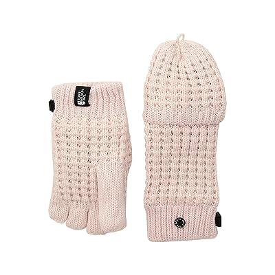 The North Face Kids Waffle Flip Mitt (Big Kids) (Purdy Pink) Ski Gloves