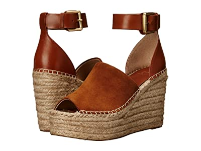 Marc Fisher LTD Adalyn Espadrille Wedge (Natural Suede) Women