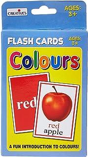 Creative Flash Cards Colours, Multi-Colour, 364