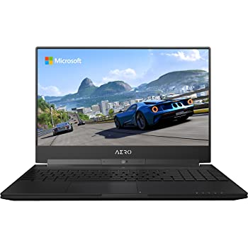 "GIGABYTE Aero 15W v8-BK4 15"" Ultra Slim Gaming Laptop 144Hz FHD X-Rite i7-8750H, GeForce GTX 1060, 16G RAM, 512GB SSD, Metal Chassis, RGB Keyboard"