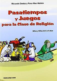 Pasatiempos y juegos para la clase de religión. (Niños y niñas de 6 a 9 años): 18 (Abba)