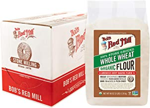 Bob's Red Mill Organic Whole Wheat Flour 48 Oz. (Pack Of 4)