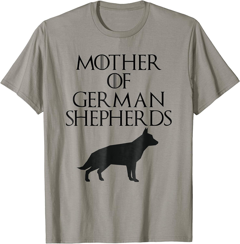 German Shepherd Little Girls Short Sleeve Tee Kids Short T Shirts