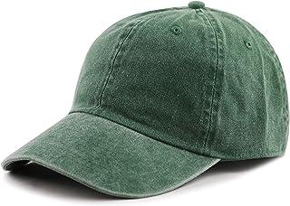 The Hat Depot 100% Cotton Pigment Dyed Low Profile Dad Hat Six Panel Cap