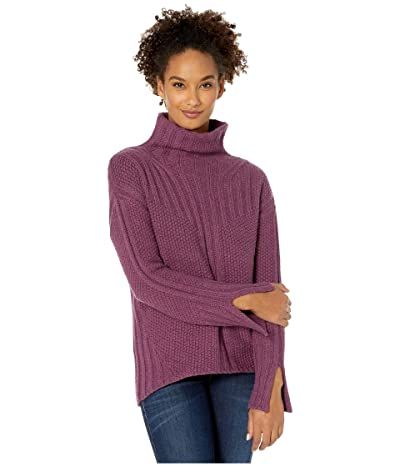 Smartwool Spruce Creek Sweater (Sangria Heather) Women