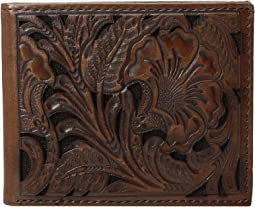 Ariat Bifold Floral Embossed Wallet