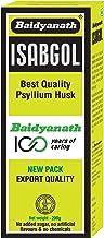Baidyanath Isabgol - Psyllium Husk Powder made from Premium Isabgol Seeds - 200g