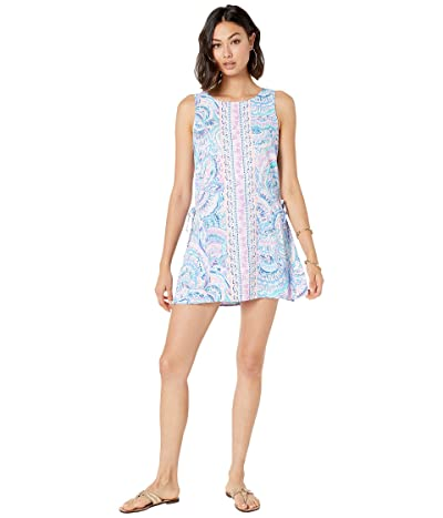Lilly Pulitzer Donna Romper (Multi Happy As A Clam Engineered Romper) Women