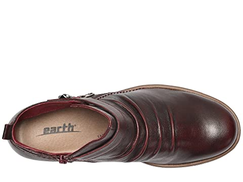 LeatherBlack Almond Earth Soft Soft Leather Soft Brook LeatherGarnet w8Uqg